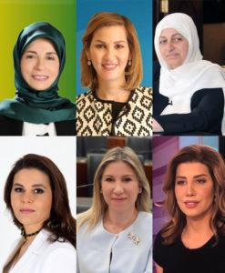 6 women elected to parliement